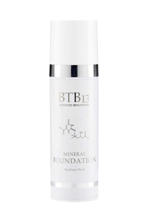 BTB13 Mineral Foundation Medium Dark 30ml